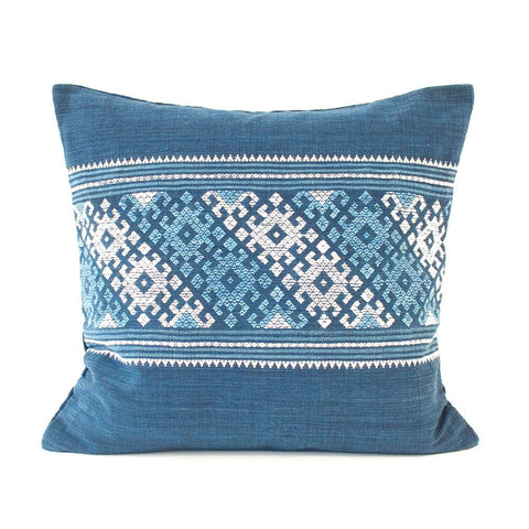 Laos Indigo Pillow I