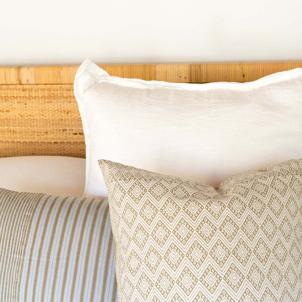 Throw pillows from El Camino de Los Altos weavers in Chiapas, Mexico