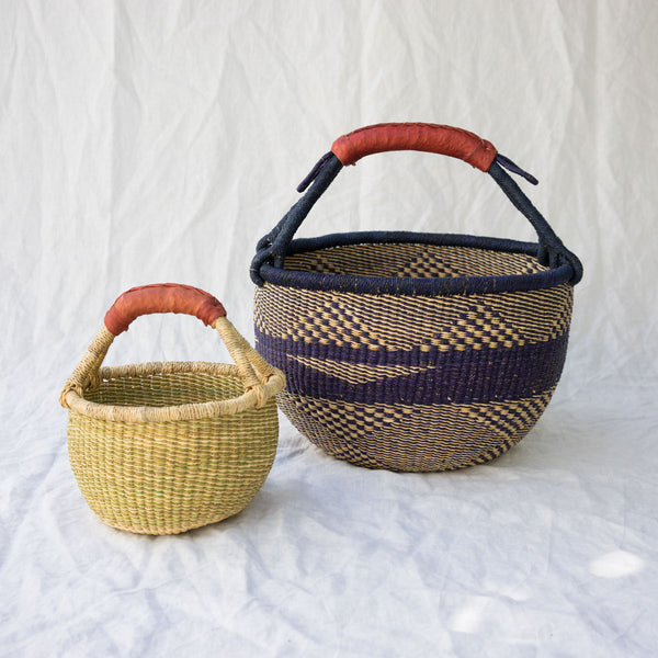 African Market Baskets from Ghana