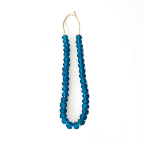 Glass Trade Beads - Aegean Blue