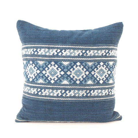 Indigo Pillow III | Handmade in Laos
