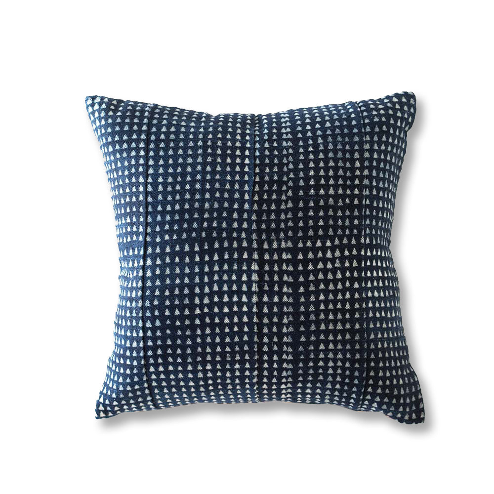 African Indigo Pillow IX