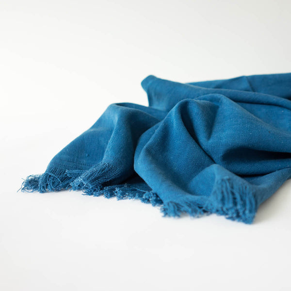 Tensira Indigo Throw IV loose