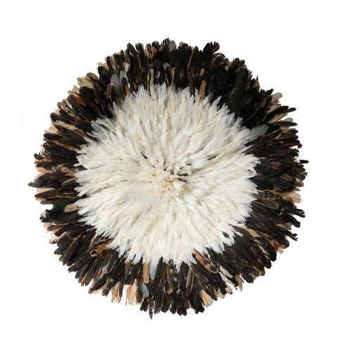 Juju Hat - Large Brown & White