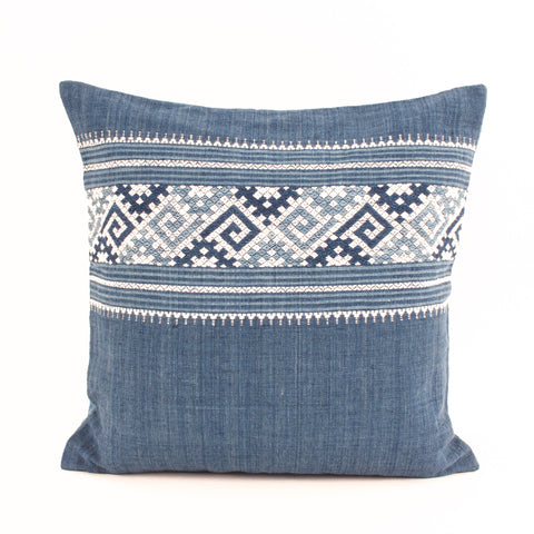 Laos Indigo Pillow V