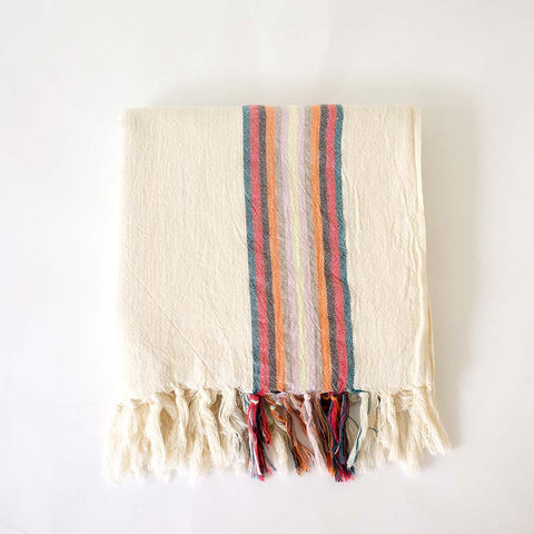 Turkish Towel - Multi - folded