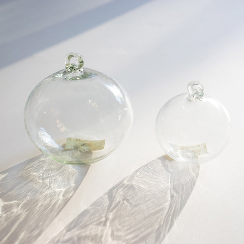 Handblown Glass - Clear