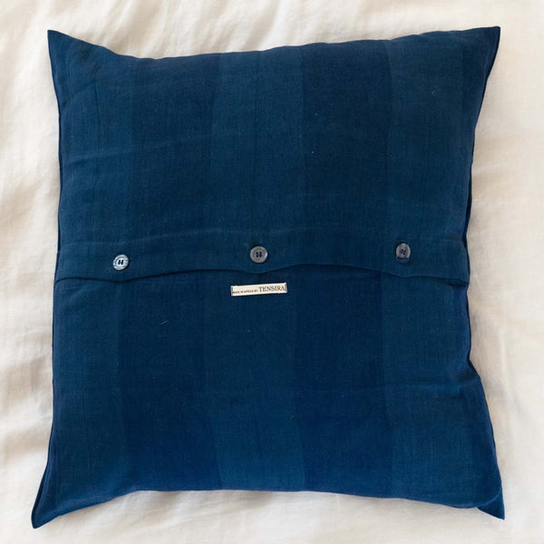 Guinea Indigo Pillow II - back side
