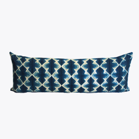 Shibori Lumbar Pillow I