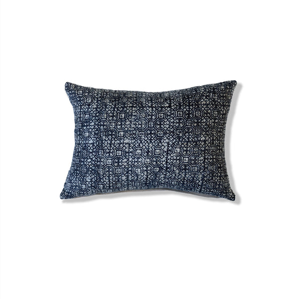 Indigo Batik Pillow I