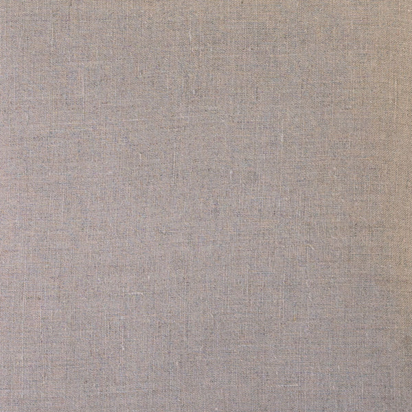 Flax linen back of pillow
