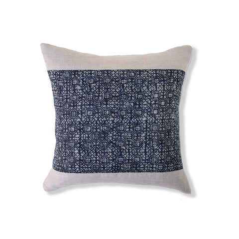 Indigo Batik Pillow III