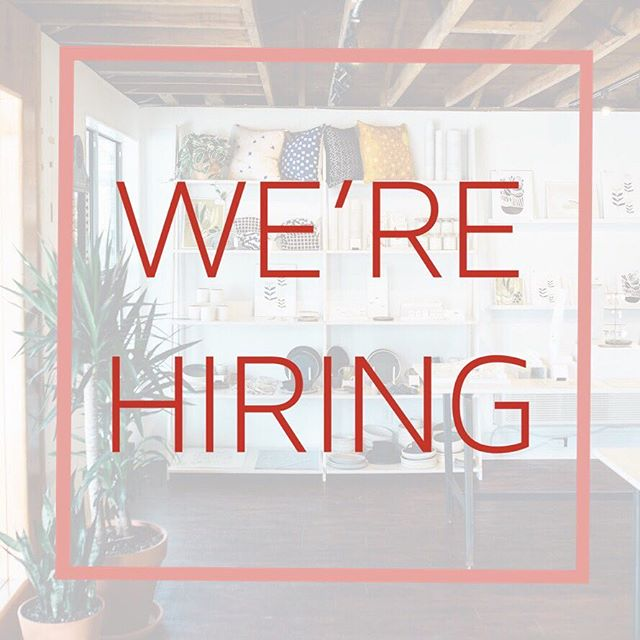 We're Hiring - Sales & Marketing Manager