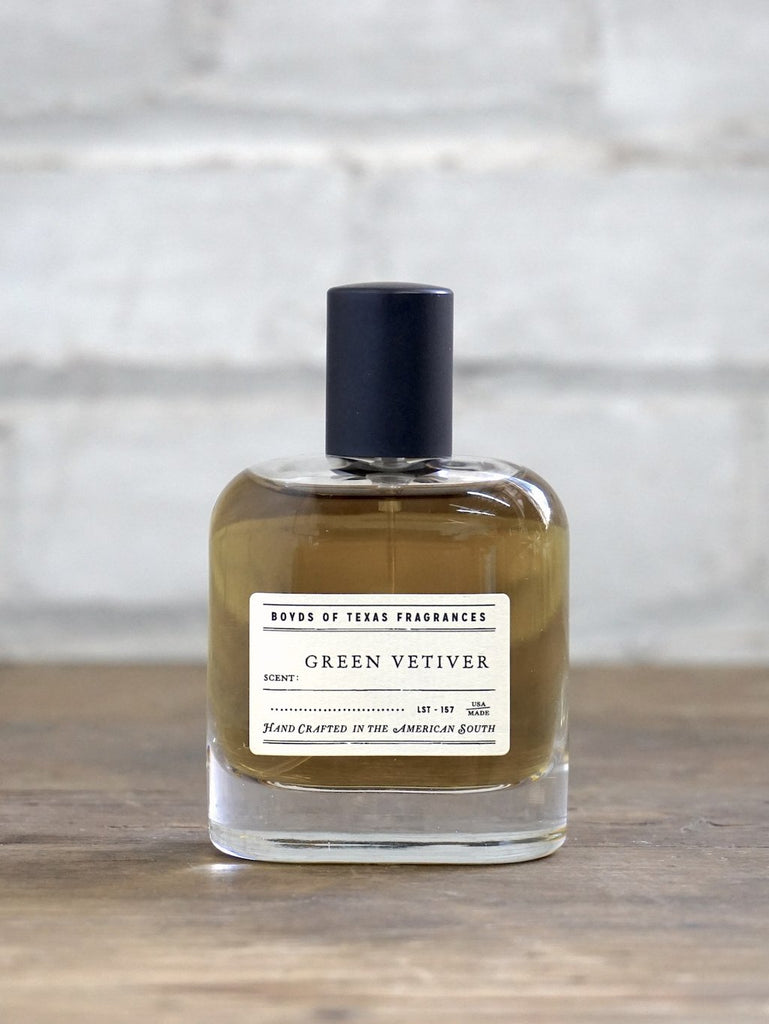 green vetiver fragrance at fail collective