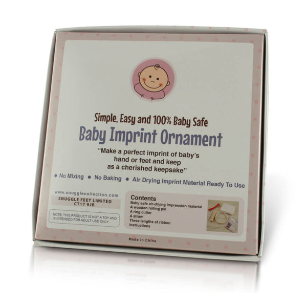 Baby Ornament Imprint Casting Kit