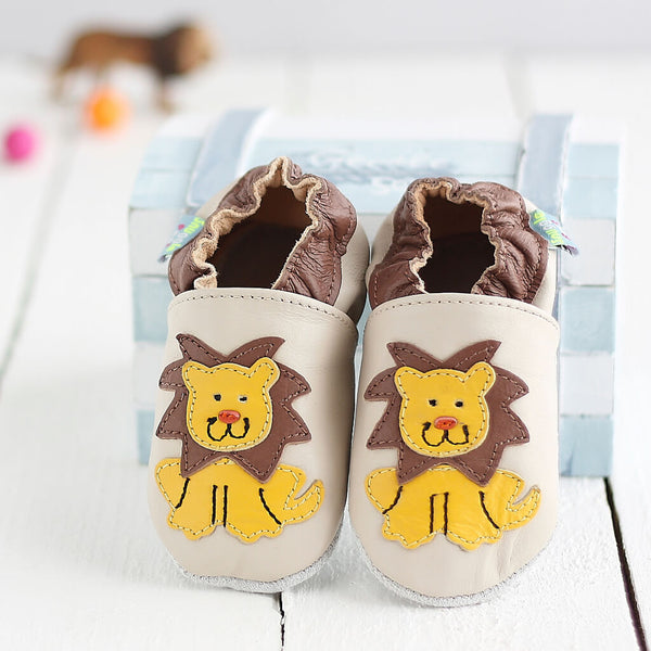Hungry Lion Soft Leather Baby Shoes | Lifestyle