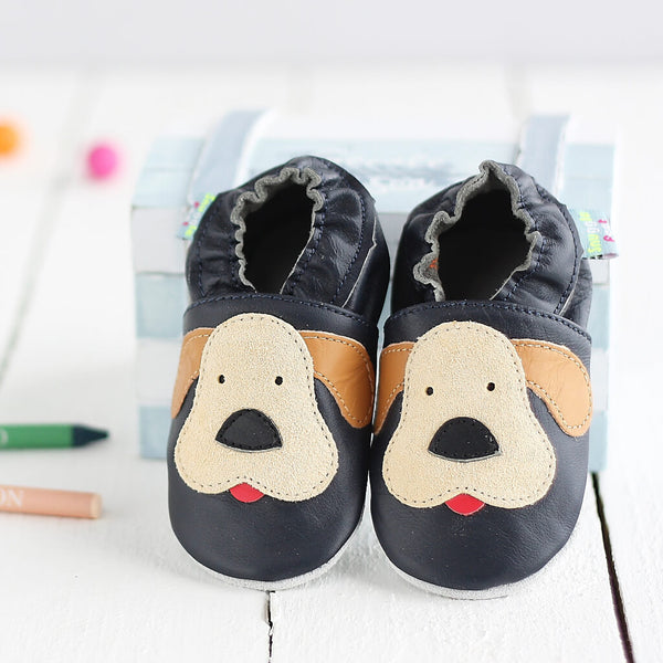 Playful Puppy Soft Leather Baby Shoes | Lifestyle