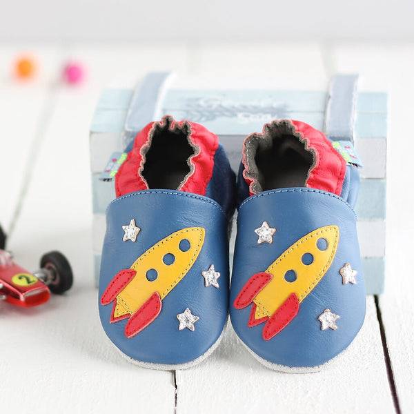 Rocket Soft Leather Baby Shoes | Lifestyle