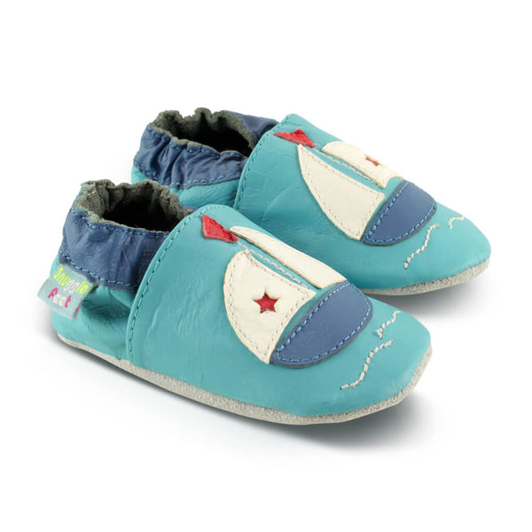 Boat Soft Leather Baby Shoes | Side View