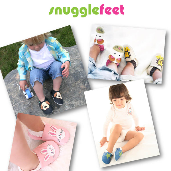 Cute Mouse Soft Faux Leather Baby Shoes