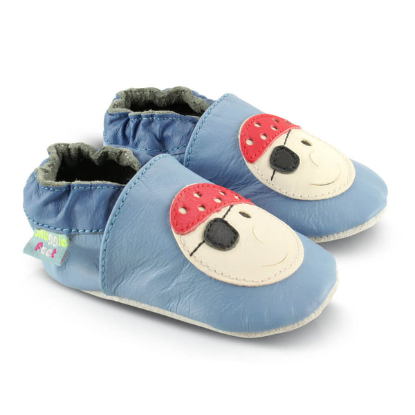 Pirate Soft Leather Baby Shoes | Side View