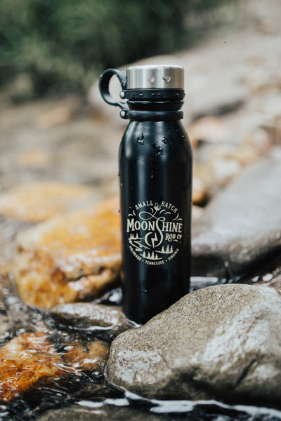 "Moonshine Rod Co. ""Small Batch"" 20oz Insulated Canteen"