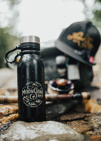 "FREE Moonshine Rod Co. ""Small Batch"" 20oz Insulated Canteen"