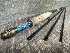 Midnight Special - 3wt - 7'6 - #2220 Blue Flame and Brass Blackout