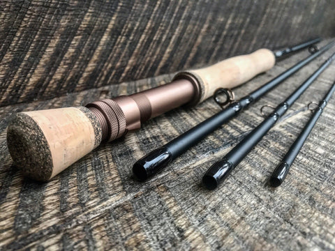Outcast - 6wt 9' - Saltwater Hybrid - Matte Black/Copper