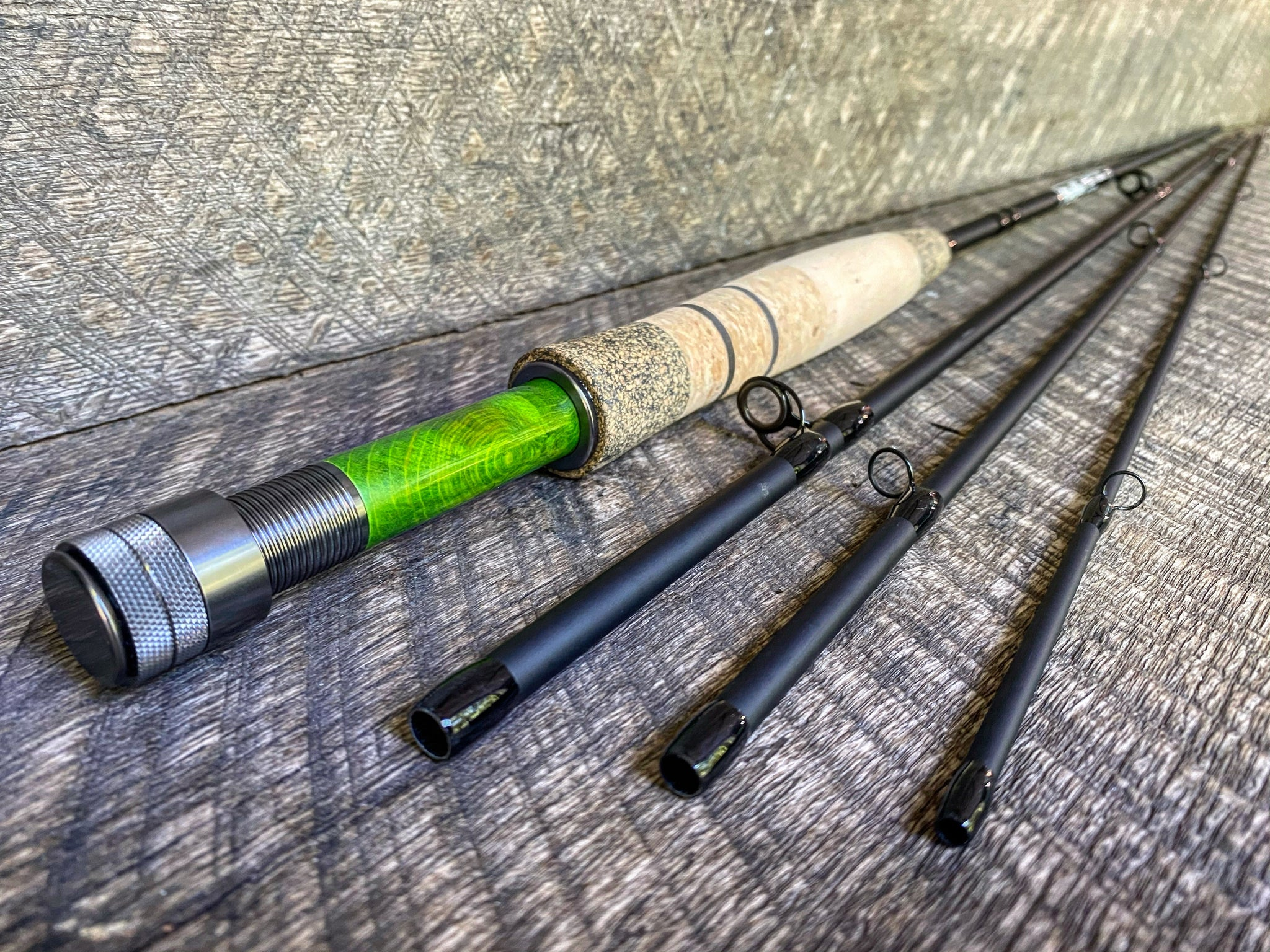 Midnight Special - 5wt - 9' - #2212 Chernobyl Green Gunmetal Blackout