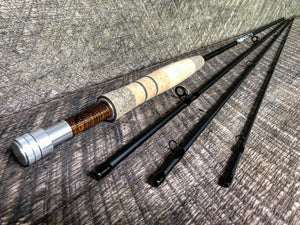 "Midnight Special - 4wt - 8'6"" - #1638 Cocobolo Blackout Platinum"