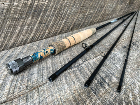 Midnight Special - 5wt  - 9' - #1923 Blue Flame Burl Gunmetal Blackout