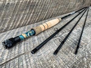 Midnight Special - 4wt  - 10' - #2089 Blue Flame Blackout Nymph