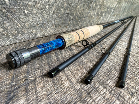 Midnight Special - 5wt - 9' - #2142 Blue Flame Blackout Gunmetal