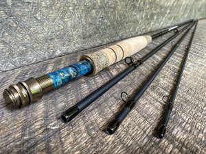 Midnight Special - 4wt - 8'6 - #2225 Blue Flame and Brass Blackout