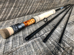 Midnight Special - 7wt - 9' - #1131 Birdseye Maple Blackout
