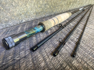Midnight Special - 4wt - 8'6 - #2194 Blue Flame Gunmetal Blackout