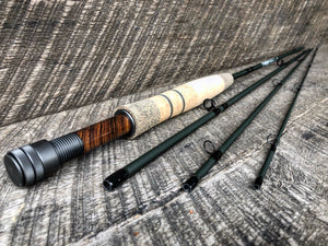 "Midnight Special - 4wt - 7'9"" - #2015 Cocobolo Blackout Gunmetal"