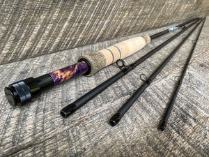 Midnight Special - 5wt  - 9' - #2080 Purple Burl Blackout