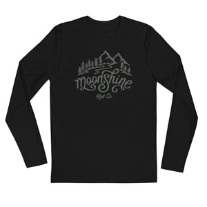 Moonshine Long Sleeve Fitted Crew