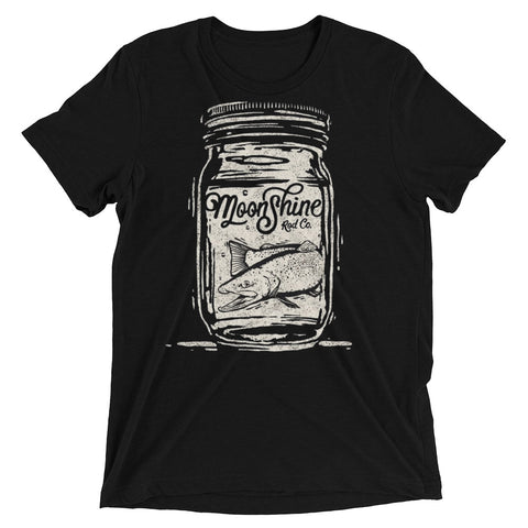 Trout In A Jar Tri-Blend T-shirt