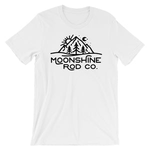 The Hipster Moonshine T-shirt Light