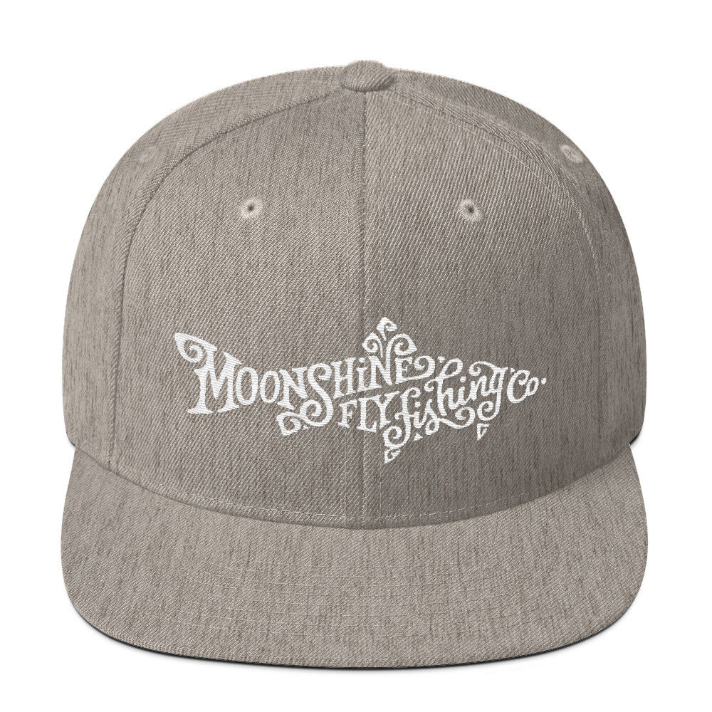Moonshine Trout Wool Blend Snapback