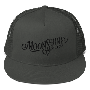 Moonshine Blackout Trucker Hat