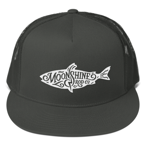 Moonshine Fish Trucker Cap