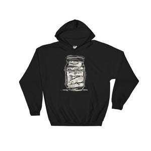 Trout in a Jar Hooded Sweatshirt