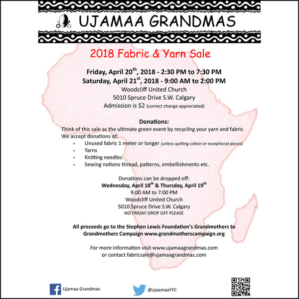 Ujamaa Grandmas Fabric Sale