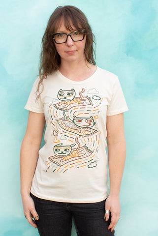 Carpet Cats - Natural Women's T-shirt