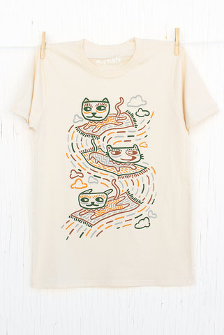 Carpets Cats - Natural Men's T-shirt