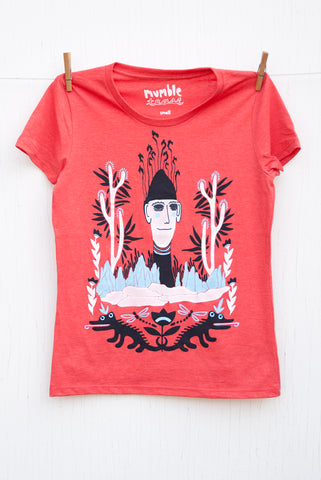 Folk Gnome - Tomato Red Women's T-shirt